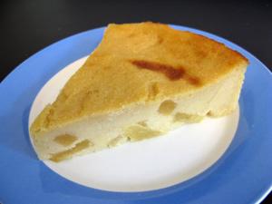 Gâteau semoule pomme