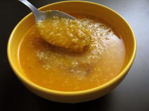 Soupe courge quinoa
