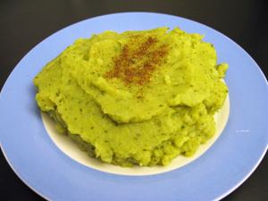 Puree patates brocolis