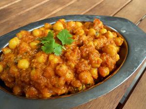 chana masala curry pois chiche