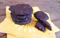 Cookies au chocolat, vegan, sans oeufs