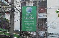 Restaurant végétarien à Bangkok