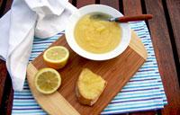 Lemon curd sans oeufs et sans lait