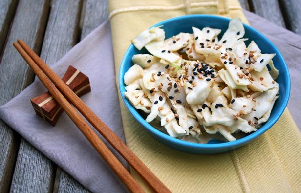 Salade de chou blanc japonaise