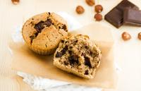 Muffin chocolat noisettes vegan