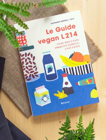 Couverture Le Guide vegan L214
